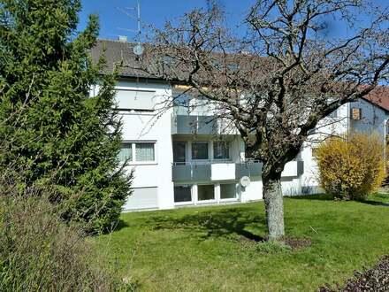 Hübsche 3,5 Zimmer-ETW mit Balkon und Einzelgarage in Bad Waldsee - Frauenberg