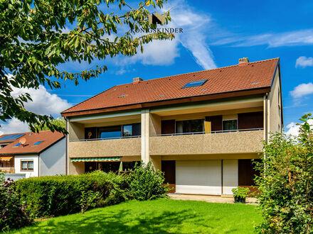 VERMIETUNG! Schicke DHH mit 6 Zimmer, Nebenräume,herrlicher Garten,Balkon in schöner,ruhiger Lage