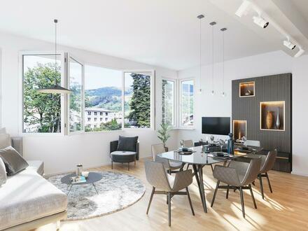 Modernes Apartment in herrschaftlicher Jugendstil - Villa in Mondsee