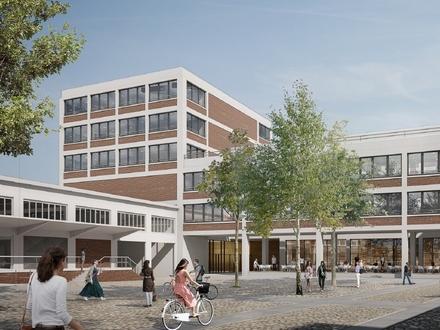 Vorhang auf für Altonas neues Bauprojekt: die QUERBÜHNE