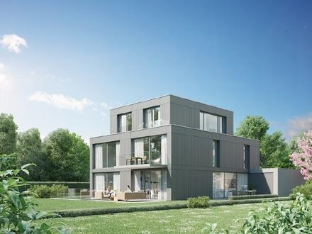 Neubau 1: Haus mit separater 2-Zi.-Whg. und Blick ins Grüne direkt am Schloßpark