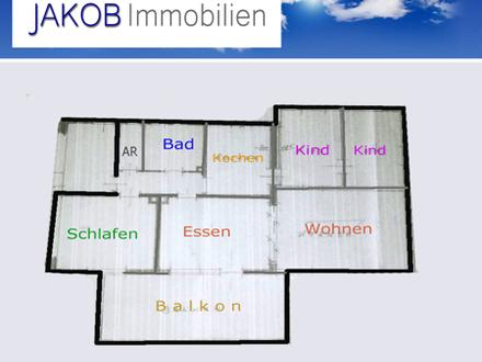 4 1/2 Zimmer-Wohnung auf einer Etage in Leuchau