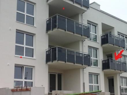 NEUBAU ERSTBEZUG PROVISIONSFREI! Helle, hochwertige 3,5 Zi-Wohnung mit Balkon, moderner Einbauküche, Tiefgaragenplatz