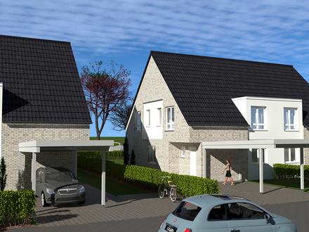 Projekt 20 - Moderne Neubau-Doppelhaushälften in Bohmte Typ Easy