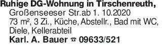 Ruhige DG-Wohnung in Tirschenr...