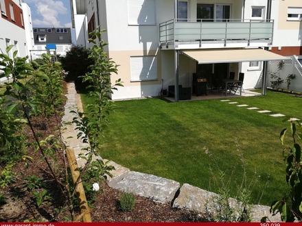 Tolle Erdgeschoss-Wohnung mit großem Garten