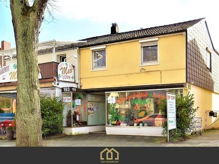 Horn-Lehe / Zweifamilienhaus mit Gewerbeeinheit in begehrter Lage