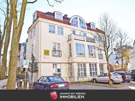Steintor / Topwohnung mit zwei Balkonen
