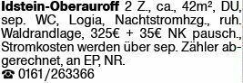 2-Zimmer Mietwohnung in Idstein (65510)
