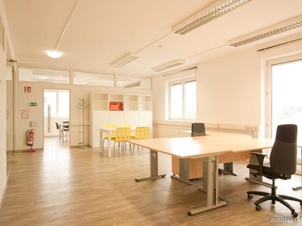 Sofort losstarten - möblierte großzügige Büroeinheit in Itzling