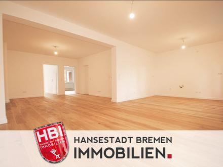 Schwachhausen / Modernisierte 3-Zimmer-Wohnung mit Sonnenbalkon
