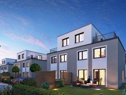 NEU | 6 Zimmer - 131 m² Wfl. | Doppelhaushälfte | Süd-Garten | Dachterrasse