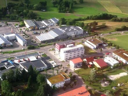 Luftbild Areal Hegelstrasse und Umgebung