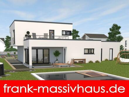 wunderschönes Bauhaus der Marke FAVORIT Massivhaus