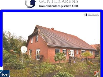 gepflegtes, geräumiges Wohnhaus mit Nebengebäuden in Westerstede - Burgforde