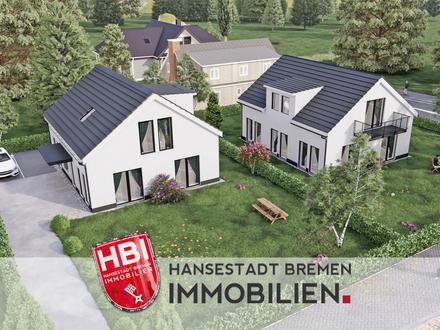 Burgdamm / KFW 55 Standard - Moderne 3-Zimmer-Neubauwohnung mit Sonnenbalkon