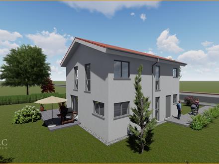 Einfamilienhaus Neubau auf 658 qm Grundstück