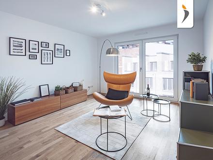 Platz für die ganze Familie: weitläufige 4-Zimmer-Wohnung mit Loggia im Nürnberger Westen