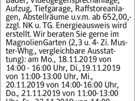Anzeigentitel NEUE MUSTERWOHNUNG eröffnet! Wohnen 2.0 in den DreiGärten...