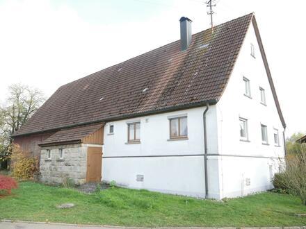 Kleinhofstelle mit Stall u. Scheune