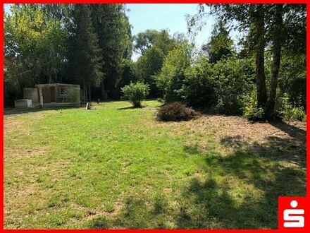 Wochenendhaus mit großem Naturgarten am Ludlgraben