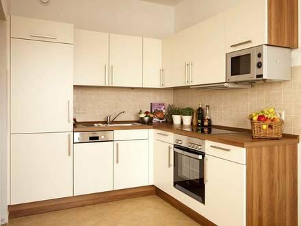 3-Zimmerwohnung mit moderner Einbauküche und Balkon