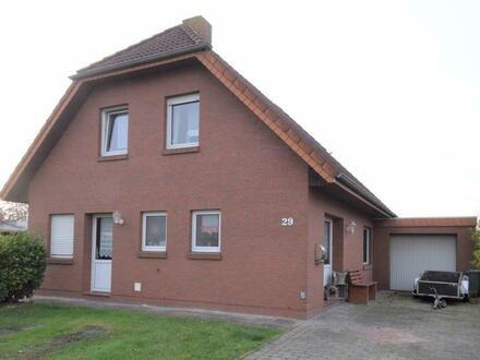 Gepflegtes Einfamilienhaus mit Garage in Ostrhauderfehn