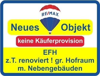 Kaufen Sie ab € 691,- mtl.* / EFH m. Nebengebäuden & Hofraum ! Keine Käuferprovision!