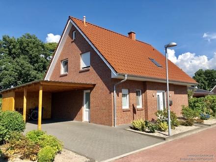 Schönes Einfamilienhaus in ruhiger und zentraler Lage von Friesoythe!!