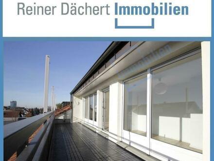 Ruhiges Wohnen im Penthouse über den Dächern von Pfungstadt ...