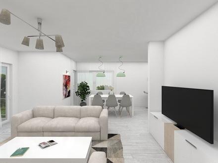 3-ZKB Wohnung (Neubau KFW 55) mit Balkon in Oerlinghausen-Helpup