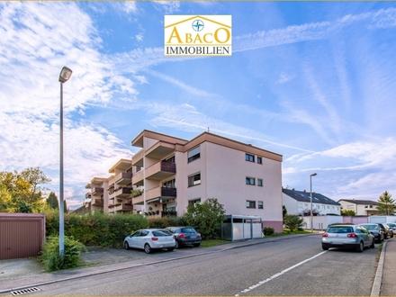SOFORT bezugsbereit! 3,5-Zi.-Wohnung mit Balkon und Tiefgarage in einem gepflegten Mehrfamilienhaus