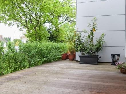 """Gut geschnittene, helle 3-Zimmer-Wohnung mit Terrasse im """"Seerosenpark"""""""
