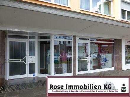 ROSE IMMOBILIEN KG: Nahezu bezugsfertiges Ladenlokal in 1A- Lage von Espelkamp.