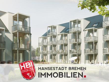 Hastedt / Neubau - Exklusive 3-Zimmer-Wohnung mit Balkon