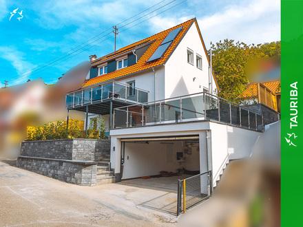 Attraktive Doppelhaushälfte mit Gartenhaus und vielen weiteren Extras
