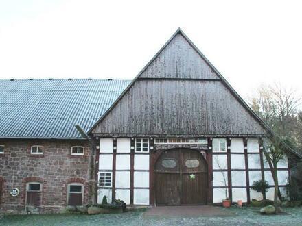Denkmalgeschützte Hofstelle in Hagen a.T.W.