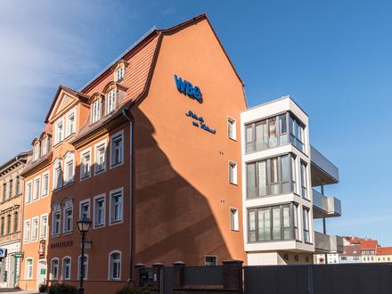 Wohnen im Denkmal-Exklusive DG-Wohng im Stadtzentrum mit gr. Terrasse, Aufzug und Fußbodenheizung