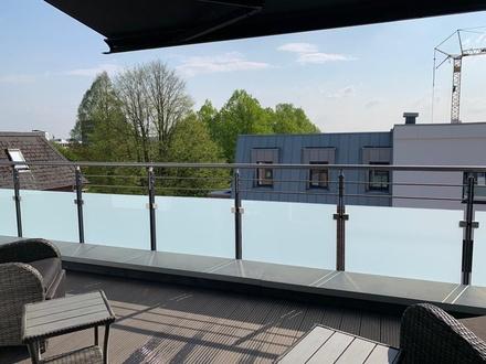 Wohnen am Prinzesshofpark - Schöne 2-Zimmer-Penthouse-Wohnung in Itzehoe