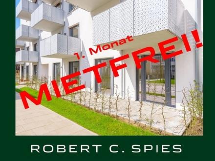 Attraktive 2-Zimmer-Neubau-Whg. im Erdgeschoss mit zwei Terrassen