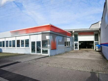 Vermietung: MA-Neckarau, Werkstatt- und Lagerfläche Nähe Casterfeldstraße mit ca. 814 m²