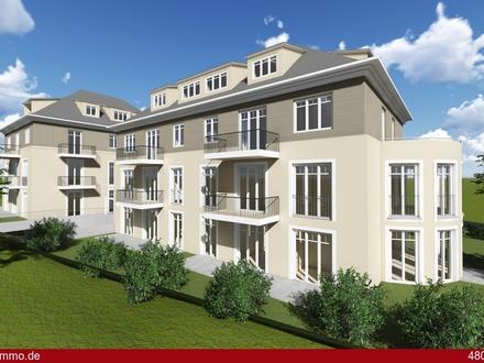 Exklusive, stufenlose Etagenwohnung mit Terrasse
