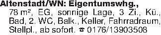 Altenstadt/WN: Eigentumswhg.,...