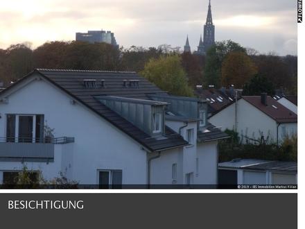 1-Zimmer-Appartment mit Dachterrasse in ruhiger Lage von Neu-Ulm/Offenhausen.