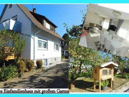 **modernisiertes Einfamilienhaus mit großem Garten** Das ideale Familiendomizil