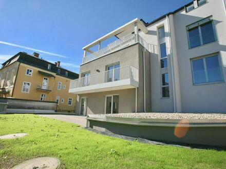 Klagenfurt - Kreuzbergl - Kinkstraße: Besondere 76 m² Gartenwohnung ** ERSTBEZUG **