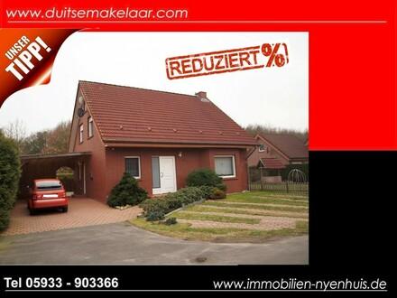 PREISREDUZIERT **** gepflegtes Einfamilienhaus mit Kamin und überdachter Terrasse