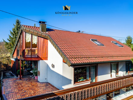 Attraktives und großzügiges Einfamilienhaus mit schöner Aussicht in ruhiger Wohnlage!