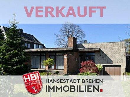 Ganderkesee / Charmantes Einfamilienhaus mit Süd-Garten und Garage in ruhiger Wohnstraße