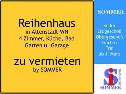 Altenstadt WN // Reihenhaus mit Keller u. Garage mieten